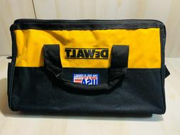 "Tool Bag 19x12"" Heavy Duty Nylon Canvas Contractor w 14 Pock"
