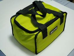 RYOBI Large Wide Mouth Zipper Tool Bag Organizer 12 X 9 X 7""