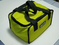"RYOBI Large Wide Mouth Zipper Tool Bag Organizer 12 X 9 X 7"""