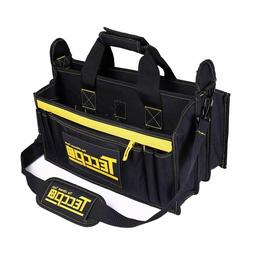 Tool Bag, TECCPO Heavy Duty Bag, 3 Max Extended Space and 9+