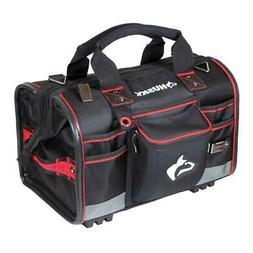 Husky Tool Bag Storage Pocket 18 in Heavy Duty Large Mouth F