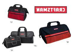 "Craftsman Tool Bag / Storage Wide Mouth 13"",  16"",  18"" , 20"