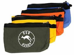 Tool Bags Roo Pouch Includes 4 Heavy Duty Canvas Zipper Bags