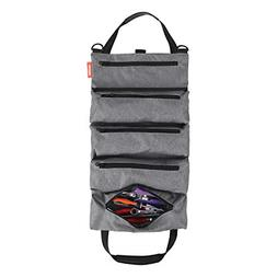 Tool Roll Pouch-Super Tool Zipper Bags Tote Carrier Tool Bag