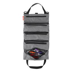Tool Roll Pouch-Super Tool Zipper Bags,Tote Carrier Tool Bag
