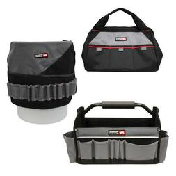 Tool Storage Combo - 3 Piece Set Bag Organizer Removable Bot