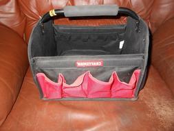 Tool Tote Bag Red Sturdy Organizing Steel Handle Tools Stora