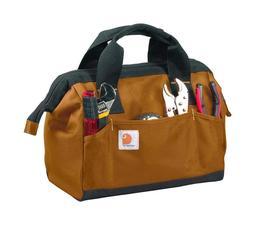 Carhartt Trade Series Tool Bag, Medium, Carhartt Brown or Bl