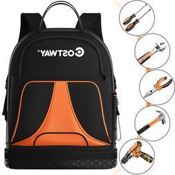 Tradesman Tool Backpack Duty Jobsite Tool Bag 33 Pockets w/