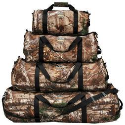 Travel Duffel Bag, Hunting Fishing Gear, RealTree Camo, Ergo