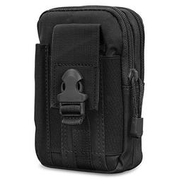 MoKo Universal Outdoor Waist Bag, Tactical EDC Molle Pouch C
