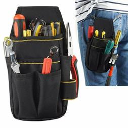 US Electrician Tool Bag Waist Pocket Pouch Belt Storage Scre