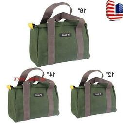 US Multi-function Canvas Waterproof Storage Hand Tool Bag Po