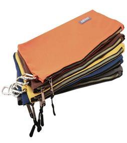 Utility Canvas Zipper Tool Bag - Heavy Duty Tools Pouch, 16