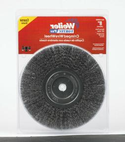 Weiler Vortec Pro Narrow Face Wire Wheel Brush, Round Hole,