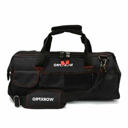 WORKPRO W081023A 18-Inch Close Top Storage Tool Bag