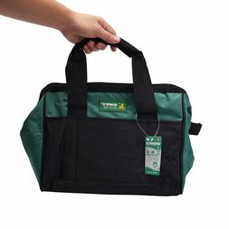 Wide Mouth Tool Bag with Water Proof Molded Base Tool Storag