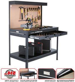 Work Bench With Light PowerStrip Table Reloading Machine Sho