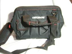 """WORKPRO 12"""" CLOSE TOP WIDE-MOUTH STORAGE TOOL BAG NWT :B19-5"""