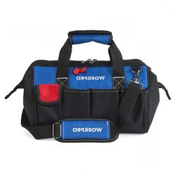 WORKPRO W081021A Tool Storage Bag Close Top Wide Mouth 14-in