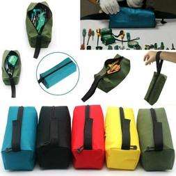 Zipper Tool Bag Pouch Organize Storage Small Parts Tool Plum